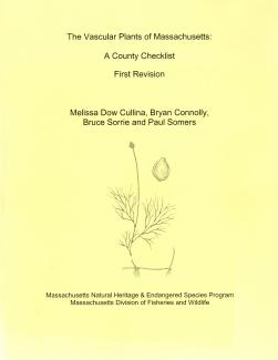 Vascular Plants of Massachusetts book cover